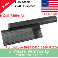 High Performance Battery or Charger for Dell Latitude D620 D630 D640 PC764