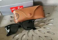 Ray-Ban Authentic Black Wayfarer 50 mm Unisex Sunglasses