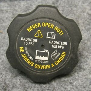 2002-09 Chevy Trailblazer & GMC Envoy Engine Coolant Reservoir Cap Lid OEM 37692