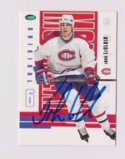03/04 Parkhurst Original 6 John LeClair Montreal Canadiens Autographed Card