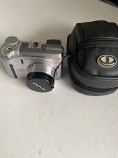 Olympus CAMEDIA C-755 Ultra Zoom 4.0 MP Digital Camera - Silver With Case