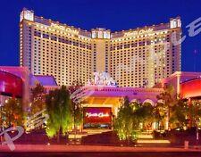 Las Vegas - MONTE CARLO - Travel Souvenir Flexible Fridge Magnet