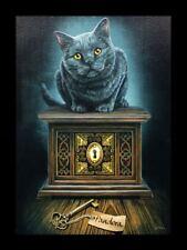 Lienzo Grande con gato - pandora's Box - Lisa Parker Decoración De Pared Cuadro