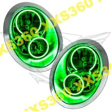 ORACLE Halo HEADLIGHTS for Mini Cooper/S 05-08 GREEN LED Angel Demon Eyes