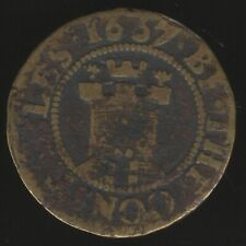 More details for 1667 taunton farthing token | pennies2pounds