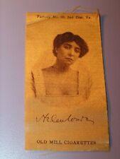 Antique Old Mill Cigarettes Tobacco Silk Lady