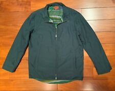 Missoni Men's Dark Green Lined Windbreaker Jacket