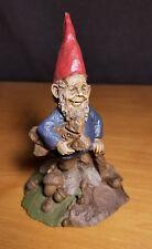 Tom Clark Gnome Doug Edition #91 1984 Coa Signed! Retired Dog Biscuit Dogwood