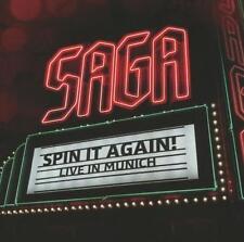 Saga. SPIN it again! Live in Munich. Live a Monaco. novembre 2012. D-CD