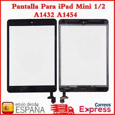 Pantalla Para iPad Mini 1/2 A1432 A1454 Tactil Digitalizador + Botón IC Negro