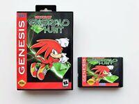 Knuckles Emerald Hunt - Sonic the Hedgehog 2 Fan Made Game - Sega Genesis (USA)