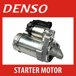 DENSO Starter Motor DSN1229   BRAND NEW - Fits Toyota HiAce, Hilux, Land Cruiser