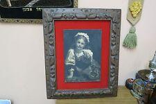 "Vintage Framed Artini? Engraving Painting 9"" x 13"" - 19"" x 24"" Portrait Art"