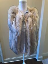 Topshop Faux Fur  Coat- Size 4