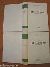 Del lavoro 2 volumi Utet 1993 Guido Zangari art. 2099 2114 2115 2134 Commentario