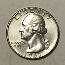1961 P Washington Quarter Silver