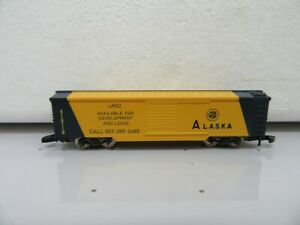 "Z - Marklin 8687 ALASKA 50' Box Car ""LAND"" -  Out of Set"
