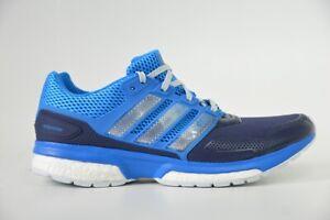 Adidas Response 2 Techfit M, Herren Laufschuhe, Männer Joggingschuhe, Blau