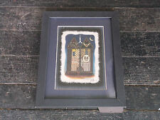 RICHARD NEUMAN Outhouse His Her Signed Art Print Framed Picture