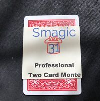 Two Card Monte - Magic Trick - Bicycle Blue - Made In USA - Packet