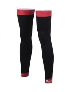 Santini 365 Cycling Bike Thermal Arm Warmers Unisex Medium Black Red