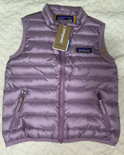 patagonia Baby Down Sweater Vest Verbena Purple 2T