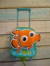 Disney Store Nemo Trolley Backpack Luggage Suitcase Bag Childrens