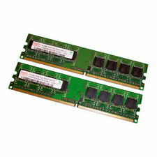 Hynix 1GB Kit (2 x 512MB) PC2-5300 240-Pin DDR2 Desktop RAM HYMP564U64CP8-Y5