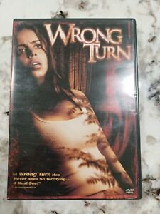 Wrong Turn DVD Rob Schmidt(DIR) 2003 Full and Wide Screen Free Shipping