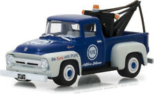 Greenlight Running On Empty 1956 Ford F-100 Tow Truck Pure Oil
