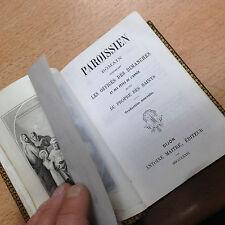 paroissien romain suivi du propre des Saint  de 1875 très frais