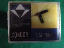 REPLACEMENT STYLUS CONDOR SAPPHIRE 6215/2 FOR SONOTONE 3559 GARRARD KS41C NOS
