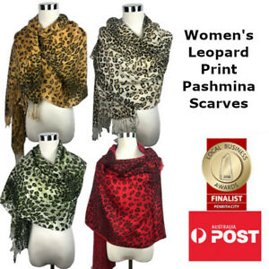Women's Leopard Print Pashmina Scarf/Shawl Print Party Wedding Wrap