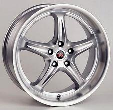 """New Set of 4 Scarallo ROH Drift-R 18"""" Wheel Rims For Nissan 350Z Infiniti G35"""