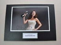 Carol Vorderman Signed 16x12 Photo Autograph Display Loose Women Memorabilia COA