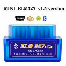 ELM327 V1.5 Bluetooth OBDII Car Diagnostic Tool OBD2 Interface Scanner Tool