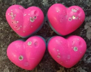 PACK OF 4- Heart shape Christmas Scents ECO soy wax
