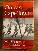 Outcast Cape Town By John Western 1981 HC
