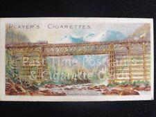 Single: MOUNTAIN CREEK BRIDGE - CELEBRATED BRIDGES - John Players 1903