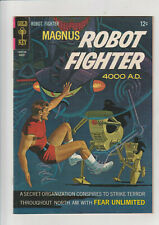 Magnus Robot Fighter #19  F+ 1967 Gold Key comic
