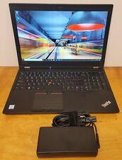 Lenovo ThinkPad P52 Intel Core i7-8750H 2.20GHz 16GB 512GB SSD Quadro P1000 FHD