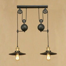 Vintage Pendant Lighting Large Chandelier Kitchen LED Lamp Modern Ceiling Lights