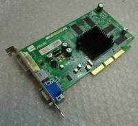 128MB ASUS RV280-LE-A062S Radeon 9200 DVI VGA AGP Graphics Video Card