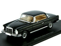1:43 Spark Mercedes Benz 300 SE Coupe w111 / W112 1964 black