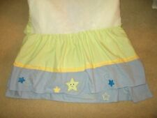 Lambs & Ivy Goodnight Moon Stars Dust Ruffle Crib Skirt