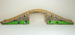 Thomas The Train Wooden Railway 3 Piece MARON ARCHED STONE BRIDGE Learning Curve