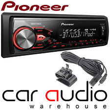 Pioneer MVH-X380BT Mechless Bluetooth USB AUX RDS 2 RCA STEREO AUTO RADIO LETTORE