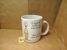 I Can't Do A Thing With My Hair... Coffee Mug, 1988 Hallmark Cards Inc(Used/EUC)