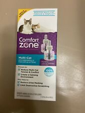 Comfort Zone Multi-Cat Diffuser Refills for Cats & Kittens 2 Count - (2 x 48