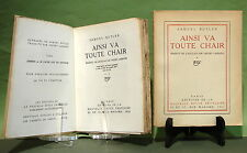 BUTLER (S.) & V. LARBAUD : Ainsi va toute chair. 1921 - Exemplaire R. Gallimard